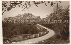 Les Baux de Provence Vue panoramique Kat. Les Baux de Provence
