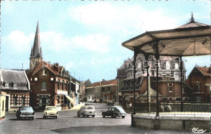 Solesmes Nord Le Marche couvert Pavillon Kat. Solesmes