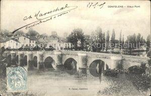 Confolens Vieux Pont Kat. Confolens