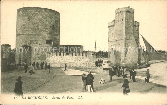 La Rochelle Charente Maritime Sortie du Port Kat. La Rochelle