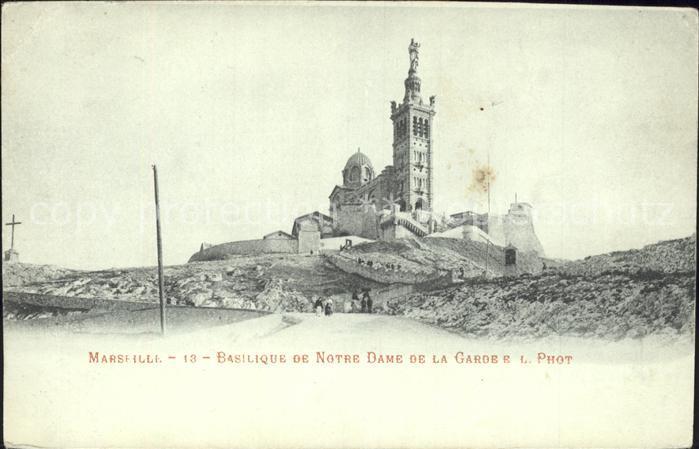 Marseille Basilique de Notre Dame de la Garde / Marseille /Arrond. de Marseille