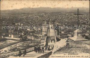 Marseille Vue d'ensemble prise de Notre Dame de la Garde / Marseille /Arrond. de Marseille