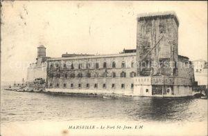 Marseille Fort St Jean / Marseille /Arrond. de Marseille