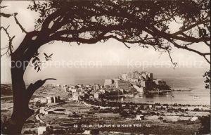 Calvi Le Port et la Haute Ville Kat. Calvi
