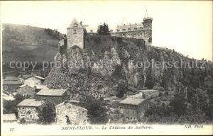 Saint Flour Cantal Chateau du Sailhans Kat. Saint Flour