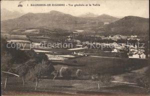 Bagneres de Bigorre Vue generale de la Vallee Kat. Bagneres de Bigorre