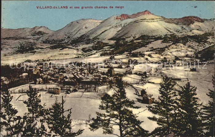 Villard de Lans et grands champs de neige Kat. Villard de Lans