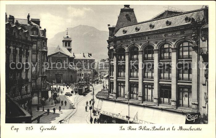 Grenoble Moucherotte Rue Felix Loulat Kat. Grenoble