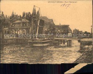 Armentieres Pont National Kat. Armentieres