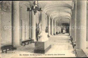 Compiegne Oise Chateau Compiegne Galerie Colonnes Kat. Compiegne
