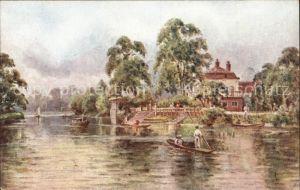 Twickenham Riverside Eel pie Island Kat. Richmond upon Thames