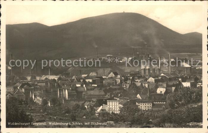 Waldenburg Schlesien Hochwald Kat. Walbrzych
