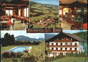 Semriach Semriacherhof Gastraum Panorama Schwimmbad Kat. Semriach