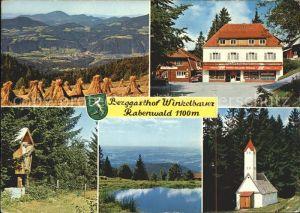 Anger oesterreich Berggasthof Winkelbauer Rabenwald Pension Kaufhaus Teich Kirche Kat. Anger