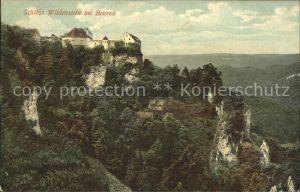 Beuron Donautal Schloss Wildenstein Kat. Beuron