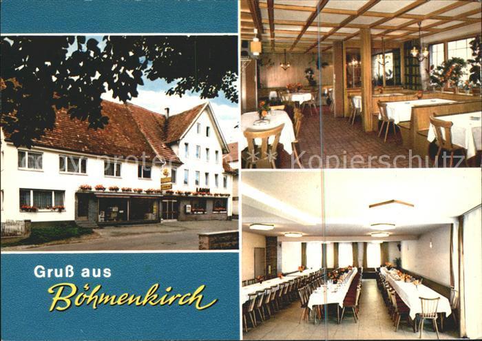 Boehmenkirch Metzgerei Gasthaus zum Lamm Kat. Boehmenkirch
