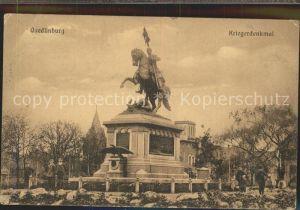 Quedlinburg Kriegerdenkmal Kat. Quedlinburg