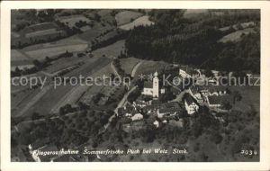 Weiz Steiermark Fliegeraufnahme Puch / Weiz /Oststeiermark