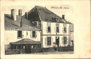 Tailly Ardennes Remonville Schloss Kat. Tailly