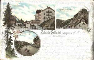 Col de la Schlucht Chalet Hartmann Hotel Defranoux Route de la Schlucht Tunnel Kat. Gerardmer
