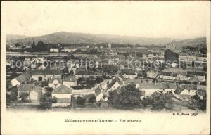 Villeneuve sur Yonne  Kat. Villeneuve sur Yonne