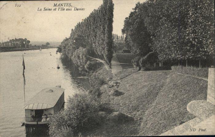 Mantes-sur-Seine Mantes Seine Ile Dames x / Mantes-la-Jolie /Arrond. de Mantes-la-Jolie