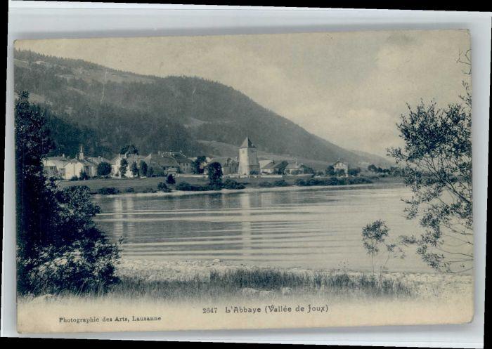 L Abbaye VD L'Abbaye  * / L Abbaye /Bz. Jura-Nord vaudois