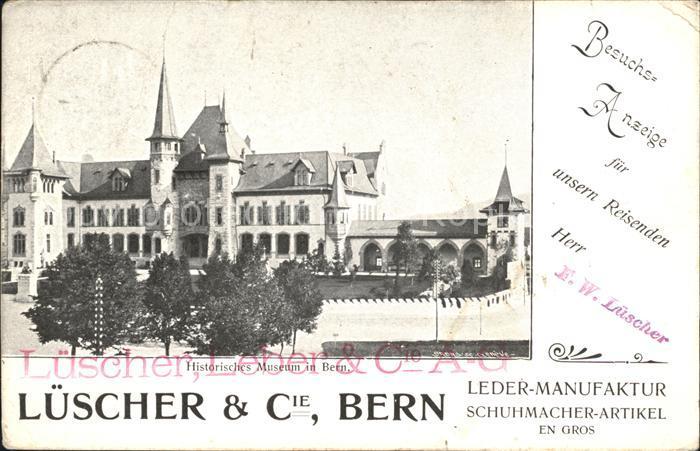 Bern BE Luescher & Cie Leder- Manufaktur / Bern /Bz. Bern City