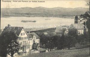 Feusisberg Hotel Pension zur frohen Aussicht / Feusisberg /Bz. Hoefe