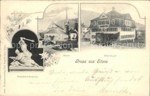 Stans Nidwalden Kirche Hotel Engel / Stans /Bz. Nidwalden