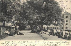 Schwyz Kollegium Maria Hilf Gymnasium  / Schwyz /Bz. Schwyz