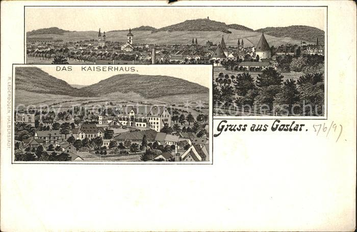 Goslar Das Kaiserhaus / Goslar /Goslar LKR