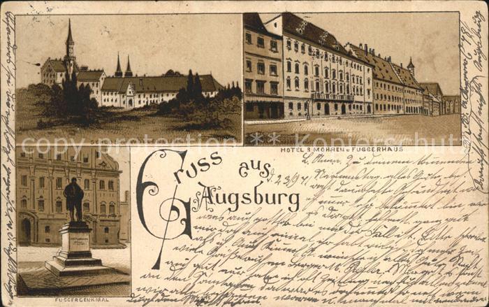 Augsburg Hotel Mohren Fuggerhaus Schloss Wollenburg / Augsburg /Augsburg LKR