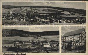 Rengshausen Knuellwald Burschenheim Kolonialwaren A. Ackermann / Knuellwald /Schwalm-Eder-Kreis LKR