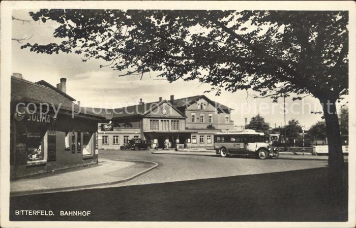 Bitterfeld Bahnhof / Bitterfeld /Anhalt-Bitterfeld LKR