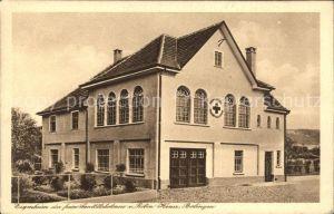 Balingen Zur Erinnerung an die Einweihung des Sanitaetskolonnenhauses 1927 / Balingen /Zollernalbkreis LKR