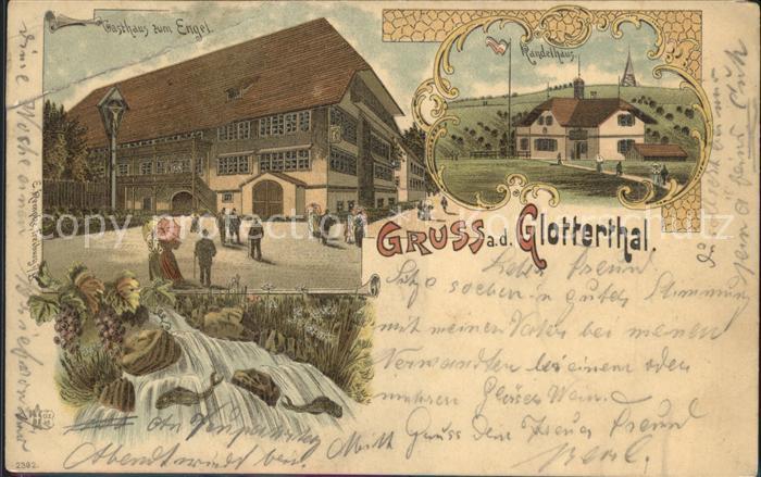 Glottertal Gasthaus zum Engel / Glottertal Schwarzwald /Breisgau-Hochschwarzwald LKR