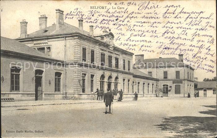 Belfort Alsace La Gare / Belfort /Arrond. de Belfort