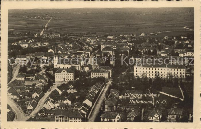 Hollabrunn Fliegeraufnahme / Hollabrunn /Weinviertel