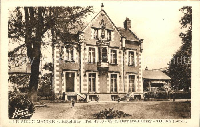 Tours Indre-et-Loire Le Vieux Manoir / Tours /Arrond. de Tours