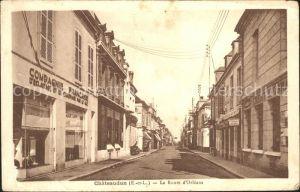 Chateaudun La Route d`Orléans / Chateaudun /Arrond. de Chateaudun
