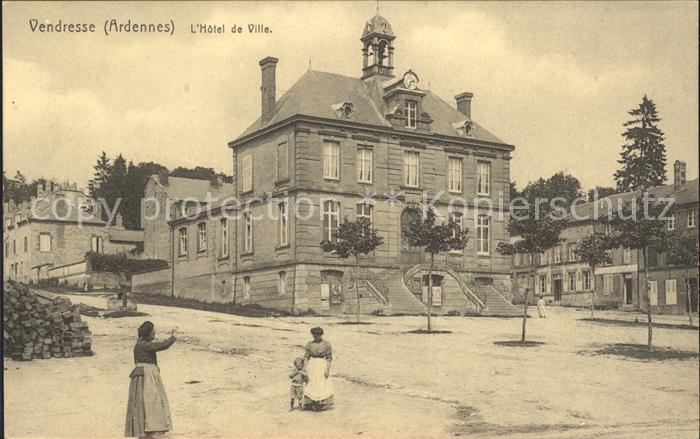 Vendresse L`Hotel de Ville / Vendresse /Arrond. de Charleville-Mezieres