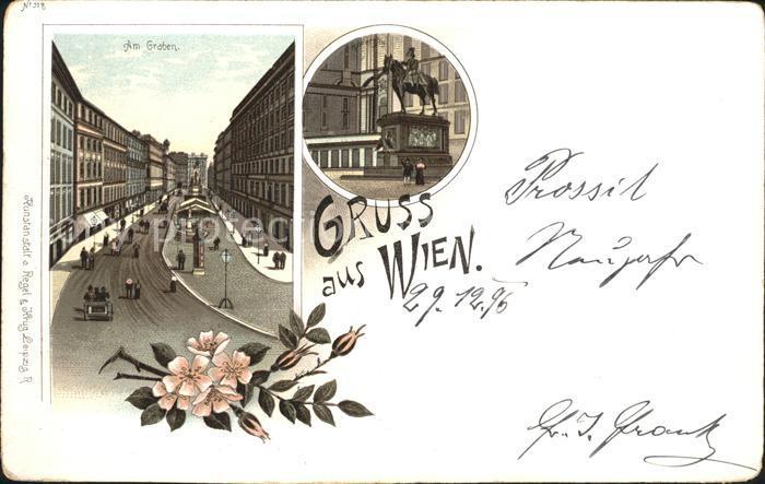 Wien Am Graben / Wien /Wien