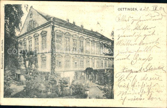 Oettingen  / Oettingen i.Bay. /Donau-Ries LKR
