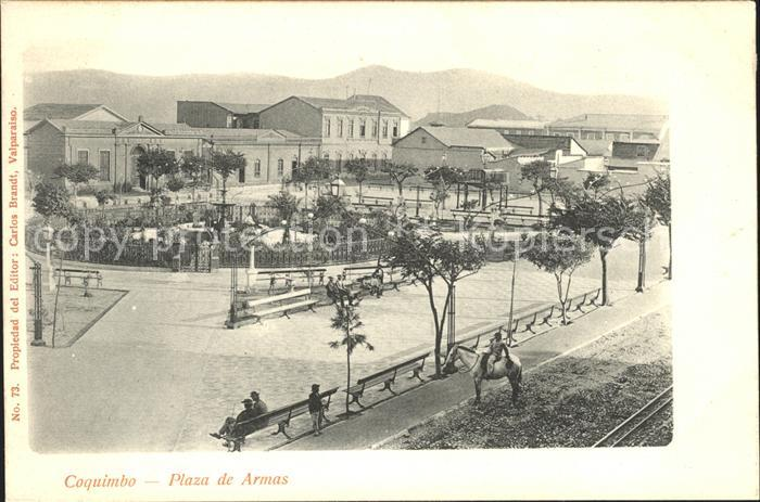 Coquimbo Plaza de Armas / Coquimbo /
