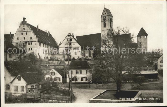 Riedlingen Wuerttemberg  / Riedlingen /Biberach LKR