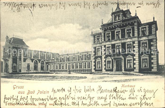 Bad Polzin Polczyn-Zdroj Kurhaus / Polczyn /Swidwin