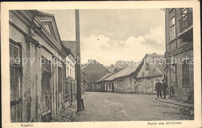 Kowno Most Pontonowy Na Niemnie Nr 11452 Oldthing Ansichtskarten Europa Gebiete Ehm
