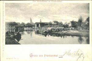 Frankenthal Pfalz Rhein-Kanal / Frankenthal (Pfalz) /Frankenthal Pfalz Stadtkreis