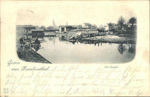Frankenthal Pfalz Kanal / Frankenthal (Pfalz) /Frankenthal Pfalz Stadtkreis